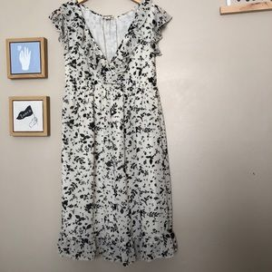 Medium floral converse dress